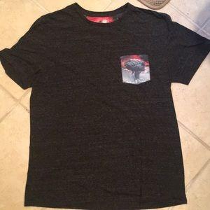 Men's t shirt pocket design